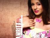 Amrita_Rao Purple Girl Beautiful Hot Girl