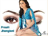 Preeti_Jhangiani Open Eye Close Eye Blue Swim Suite Sexy Hot Beautiful