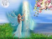 Angel Entering In Heavan