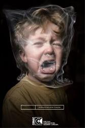 Anti-tobaco Injured Child Smoke Polithin