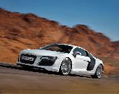 Audi  White Car Sexy Car (2)