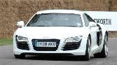 Audi  White Car Sexy Car  Sport Car Racing Car