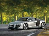 Audi Sport Vehicle Silver Alloy