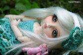 Beautiful_toy_photography_silver Hair Doll