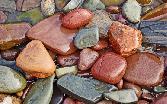 Beutiful Stones In Water