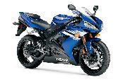 Blue Bike Yamaha