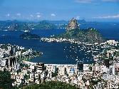 Brazil Sea And City