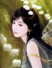 Chinese_girl Wiht White Flowers
