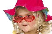 Cute Girl With Red Googles
