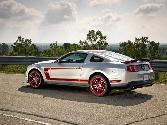 Ford Mustang Silver And Red