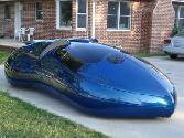 Future-car Blue Car