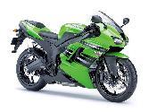 Green Bike Kawasaki Ninja Hot Sexy