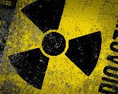 Nuclear Sign Yellow Colour