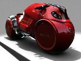 Red Bike Awesome Bike