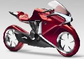 Red Bike Concept Bike