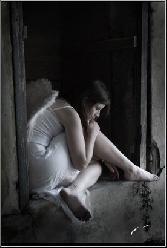 Sad Girl Sitting Alone