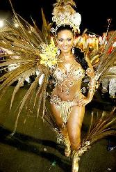 Samba Dancer Of Samba Carnival